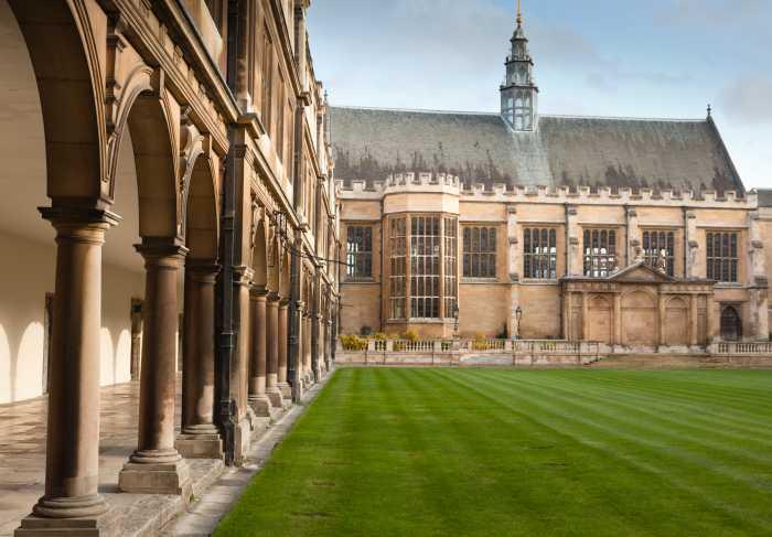 Cambridge University Grounds