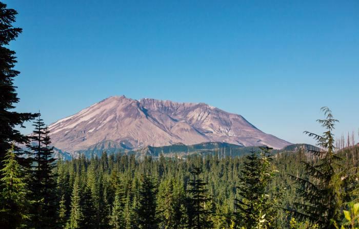 Mount St Helens in Washington