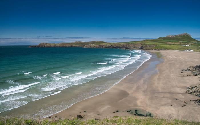 Whitesands Bay Beach in Pembrokeshire