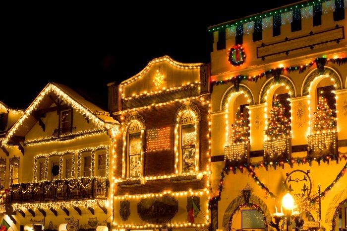 German style houses in Leavenworth