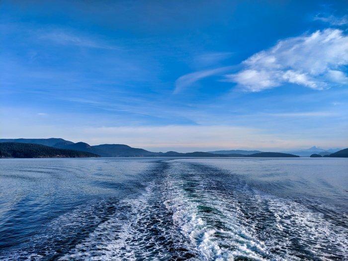 Approaching San Juan Islands