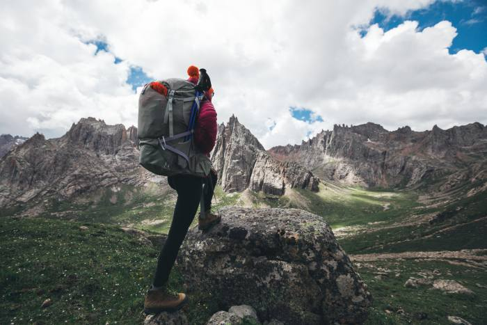 backpacking on a budget in the wilderness