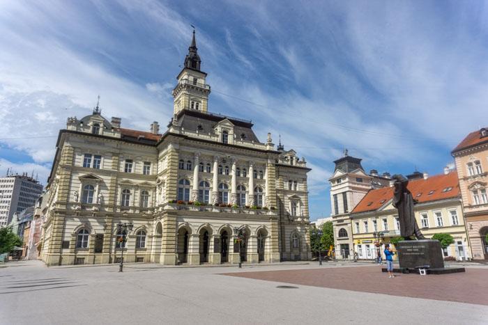 Novi Sad's Main Square