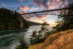 Iconic Bridge at Deception Pass
