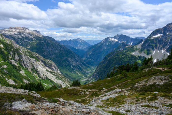 Valley Below Sahale Arm