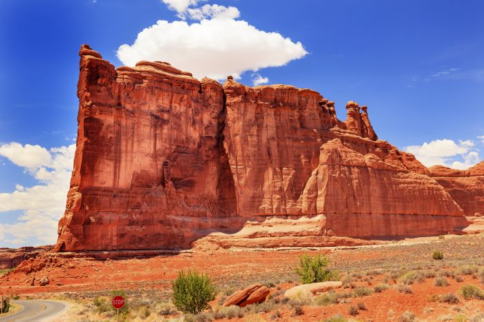 Tower of Babel in Arches National Park