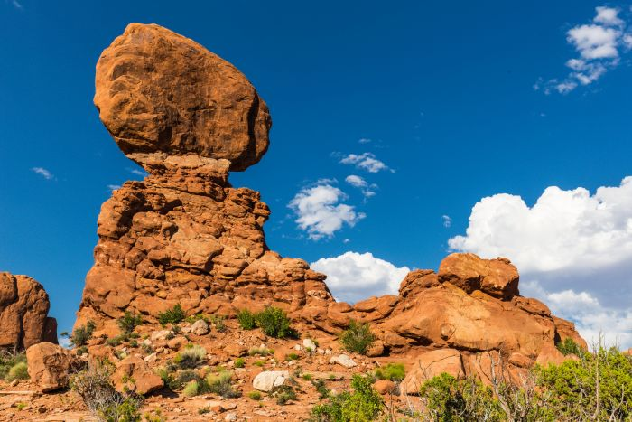 Balanced Rock in Arches