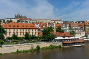 View of Prague from the Charles Bridge