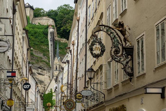 Getreidegasse - one of Salzburg's iconic streets