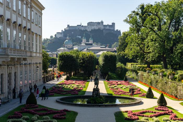 Mirabell Gardens & Hohensalzburg Fortress