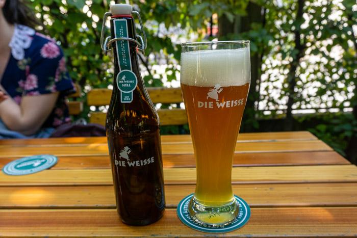 Wheat Beer from Die Wiesse