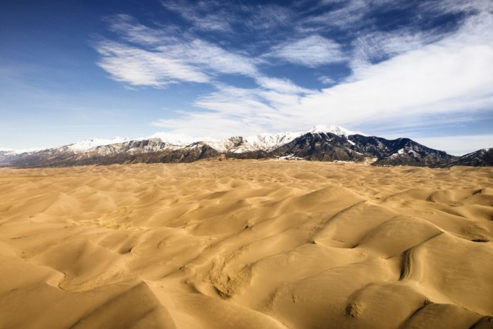 Great Sand Dunes National Park is a highlight of the Denver to Durango drive