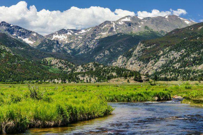 Moraine Park in Rocky Mountain National Park in Colorado