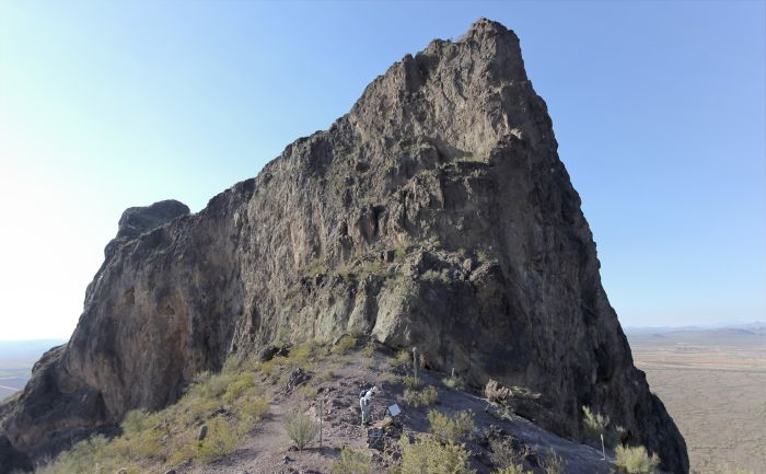Picacho Peak is one of the highlights on the Phoenix to Tuscon drive