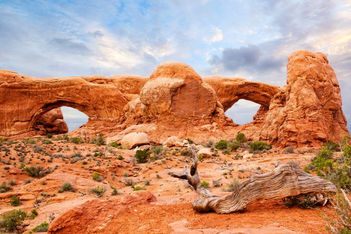 The Windows in Arches National Park