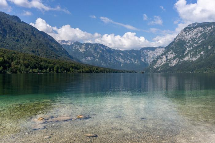 Peaceful Lake Bohinj