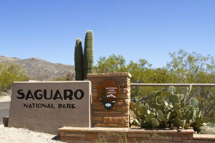 Saguaro National Park Entrance